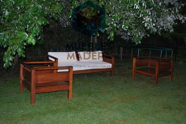 Sillones para jardin muebles de jardin venta de muebles for Sillones de jardin de madera